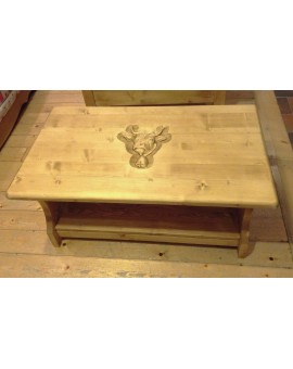Table basse vache