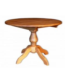 Table ronde pied central Ø 110 cm