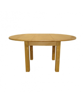 "Table allonge ""papillon"" Ø 120cm"