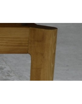 Table rectangulaire 140 x 80 cm + 2 All 50cm